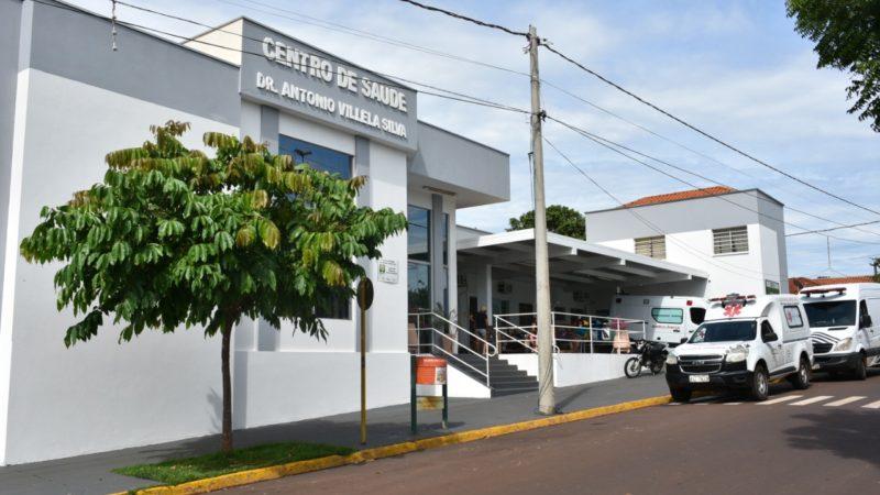 Centro de Saúde de Aracanguá ganha nova pintura