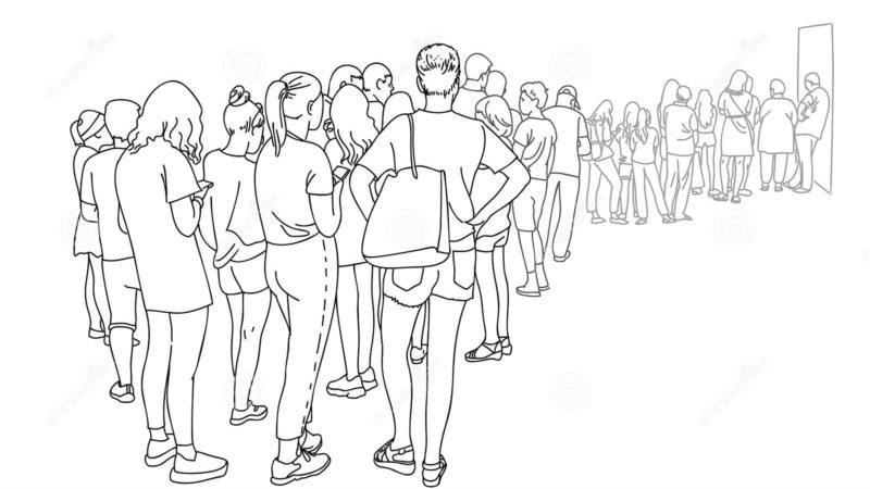 Crônica: Tem gente furando a fila
