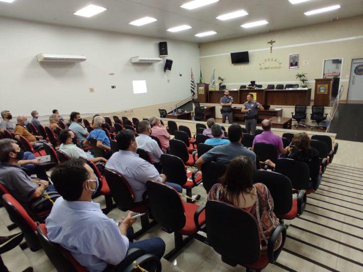 Polícia Militar promove reunião para criar novos grupos do Vizinhança Solidária em Auriflama