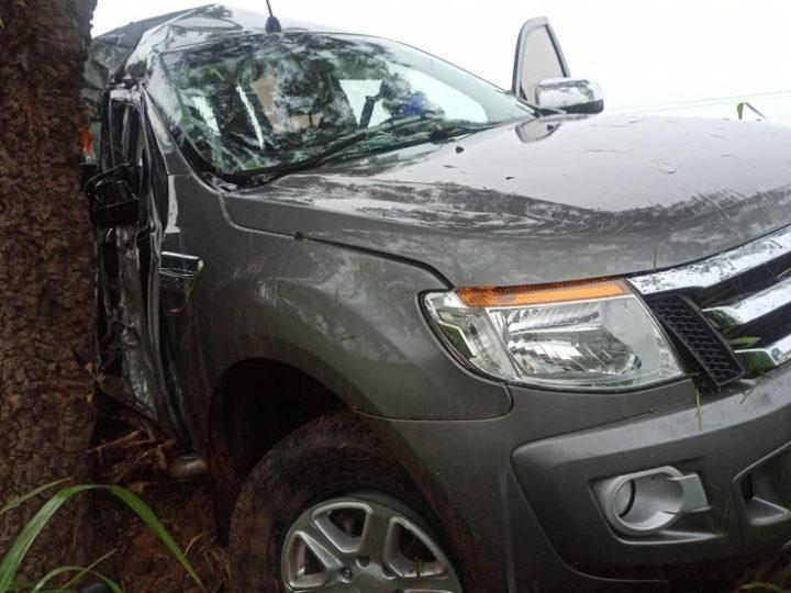 Na região, médico morre após veículo colidir contra árvore