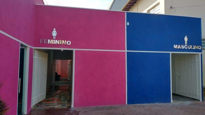 Após reforma, banheiro da Praça Matriz é reaberto ao público