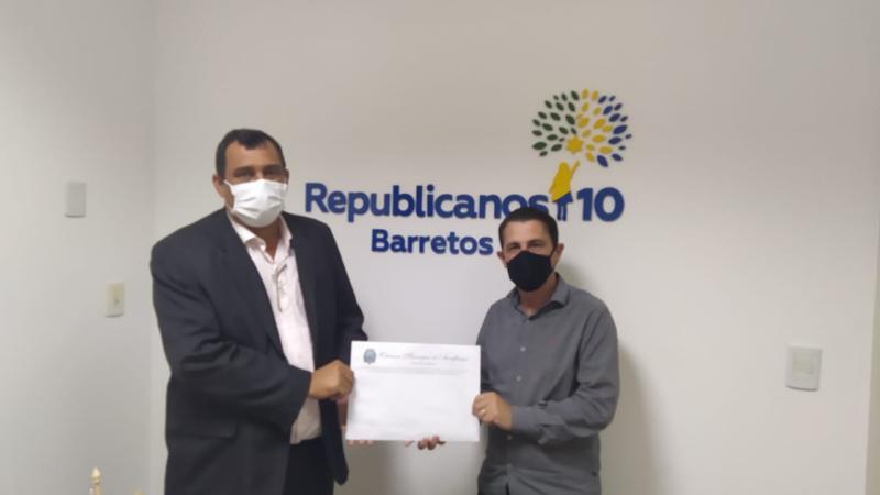 Vereador Davi pede recursos para Auriflama ao deputado Sebastião Santos
