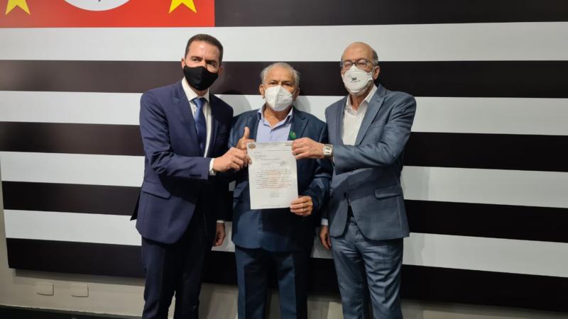 Itamar Borges indica R$ 400 mil em investimentos para Santo Antônio do Aracanguá