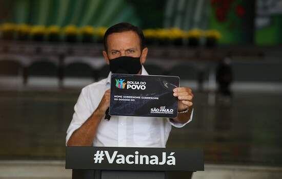Doria sanciona o Bolsa do Povo, maior programa social já anunciado pelo governo paulista