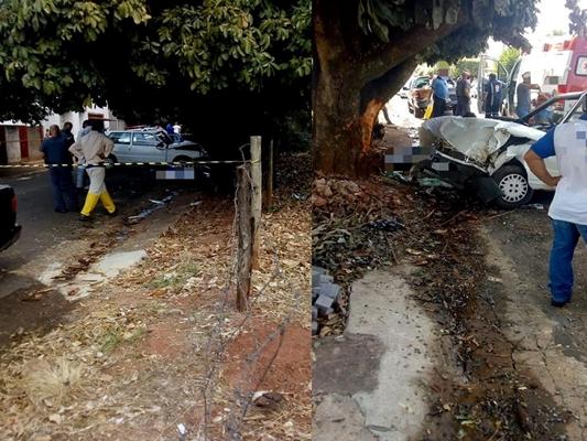 Em Floreal, mulheres morrem atropeladas por carro conduzido por um idoso