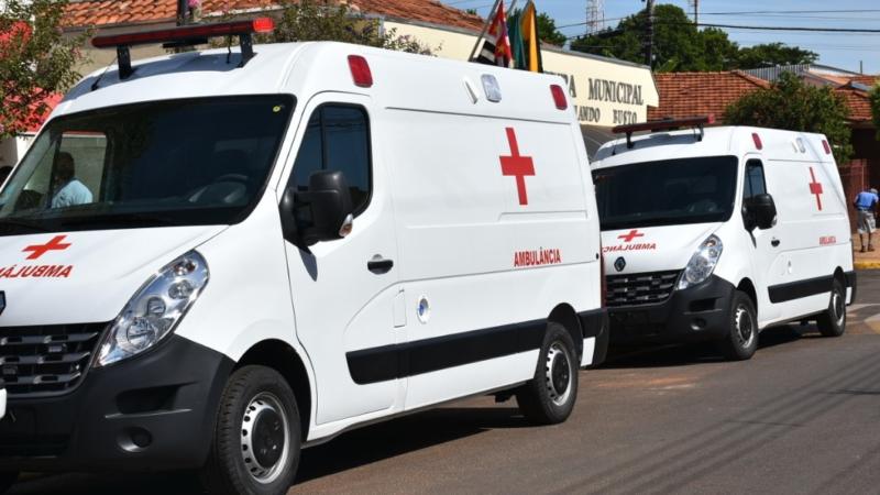Com investimentos de R$ 378 mil, Aracanguá adquire mais duas ambulâncias