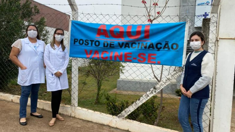 Saúde realiza Dia D de vacinação contra gripe em Auriflama