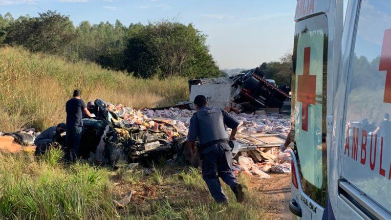 Grávida está entre as vítimas de acidente que matou três pessoas em Auriflama