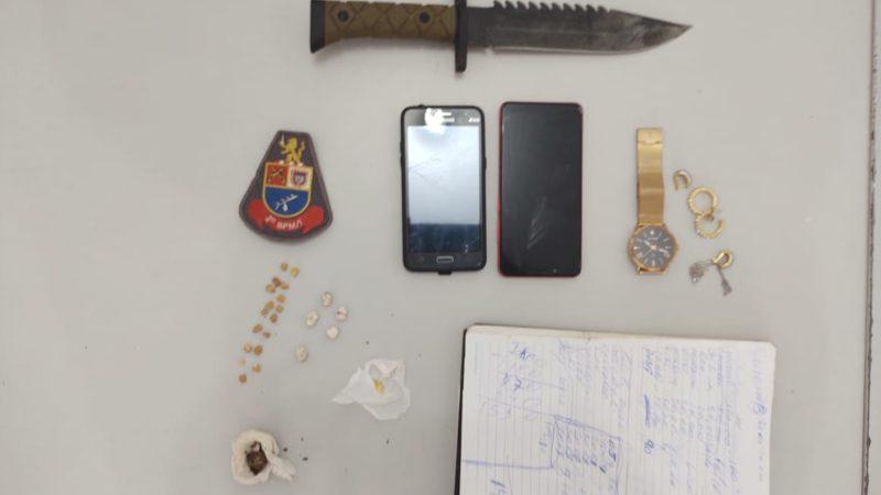 Homem de 29 anos é preso por tráfico no Portal das Paineiras