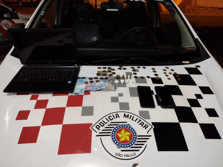 Polícia Militar prende homem com drogas e munições na Vila Cachopa