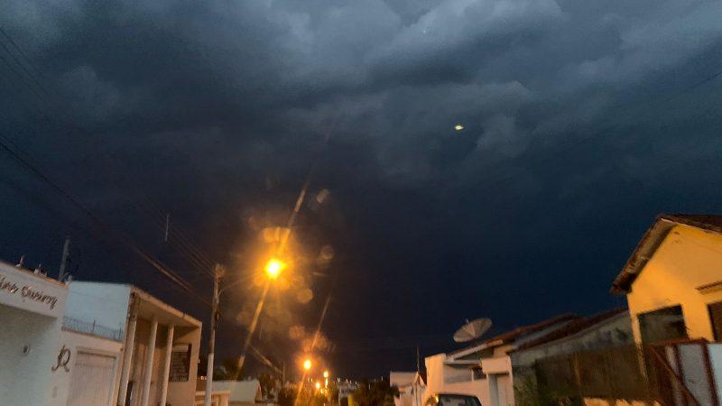 Previsão de tempestades durante a semana em Auriflama