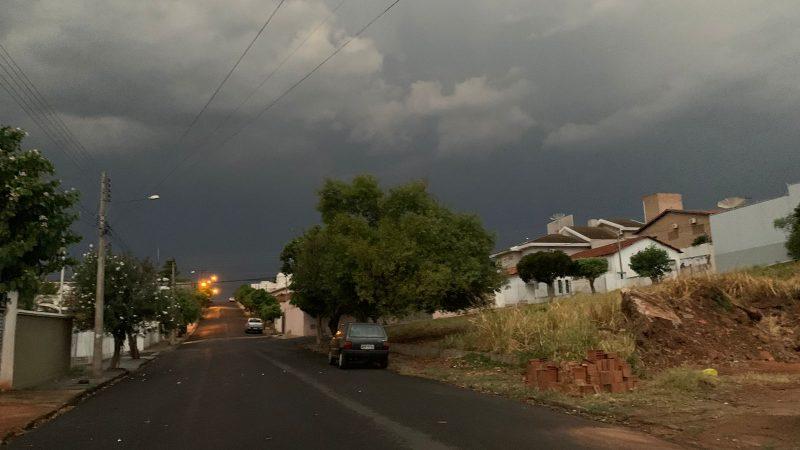 Previsão de chuvas volumosas no final da semana