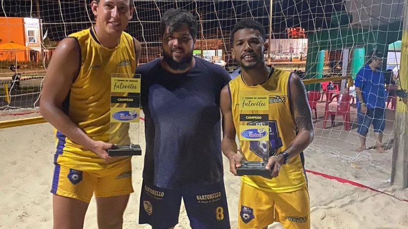 Torneio de futevôlei é sucesso entre esportistas em Auriflama