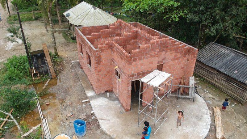 CDHU inicia construção de mais 30 moradias em aldeias indígenas