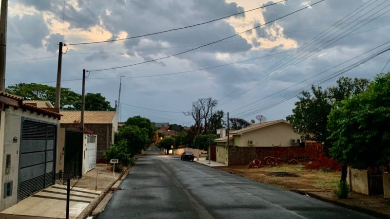 Semana começa com chuva volumosa em Auriflama e região