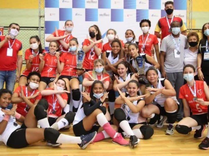 Aracanguá é vice-campeã do voleibol feminino nos Jogos Escolares em Lindóia