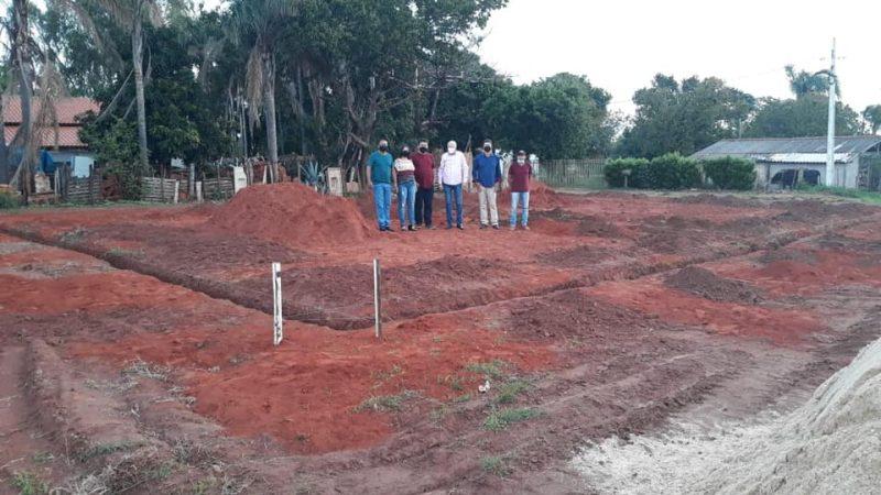 General Salgado inicia construção de barracões para indústrias, anuncia Katiazão